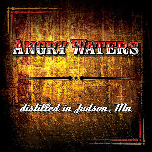 Angry Waters Distilled In Judson MN - compact disc