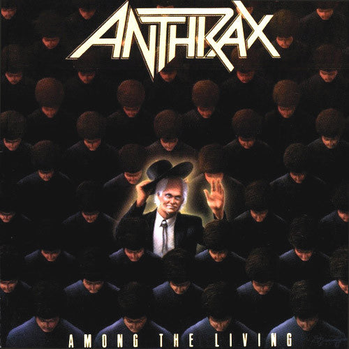 Anthrax Among The Living - cassette