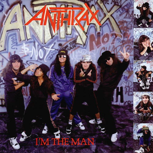 Anthrax I'm The Man - vinyl LP
