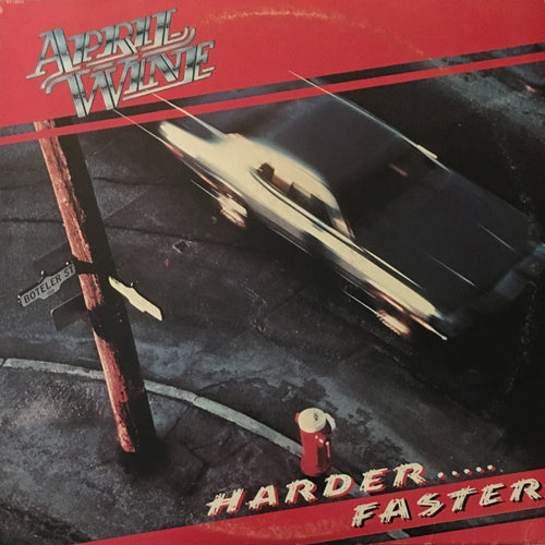 April Wine Harder Faster - vinyl LP