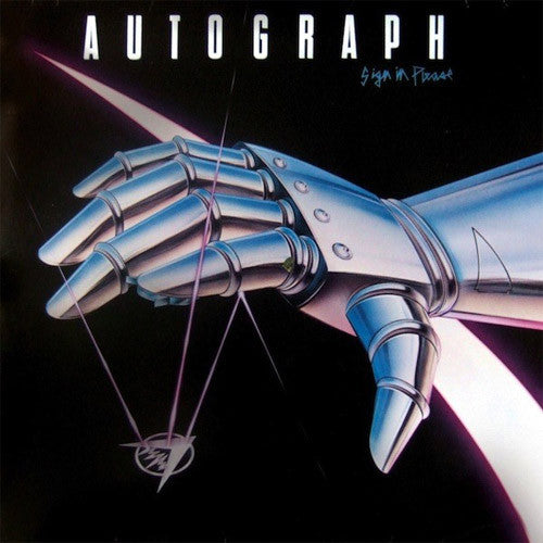 Autograph Sign In Please - vinyl LP