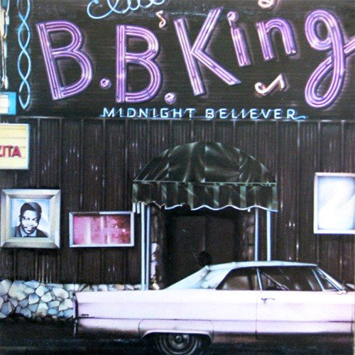 BB King Midnight Believer - vinyl LP
