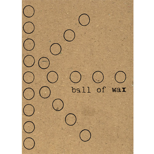 Ball of Wax Audio Quarterly Volume 33 compact disc