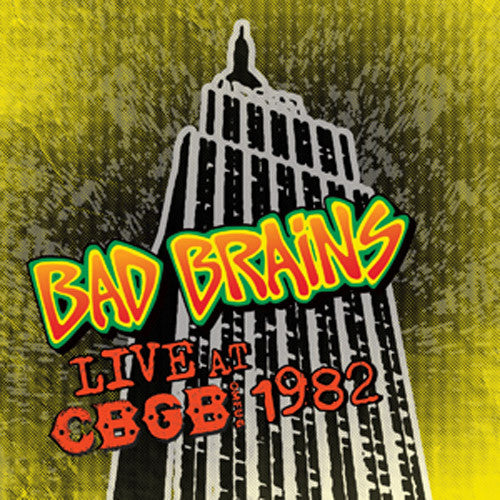 Bad Brains Live at CBGB 1982 - vinyl LP