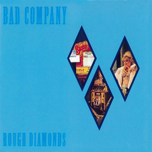 Bad Company Rough Diamonds - vinyl LP