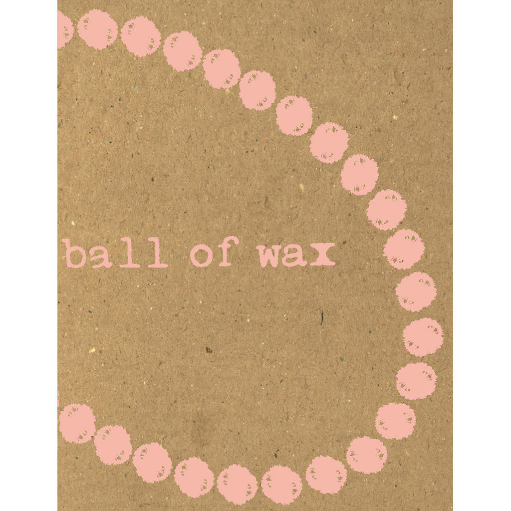 Ball of Wax Audio Quarterly Volume 34 compact disc