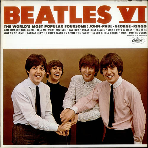 Beatles VI - vinyl LP