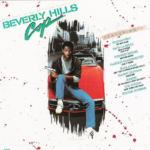 Beverly Hills Cop motion picture soundtrack - cassette