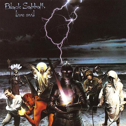 Black Sabbath Live Evil - vinyl LP