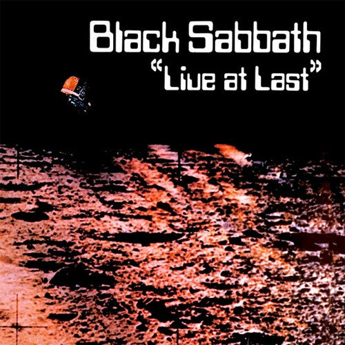 Black Sabbath Live at Last - vinyl LP