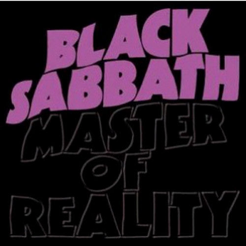 Black Sabbath Master Of Reality - cassette