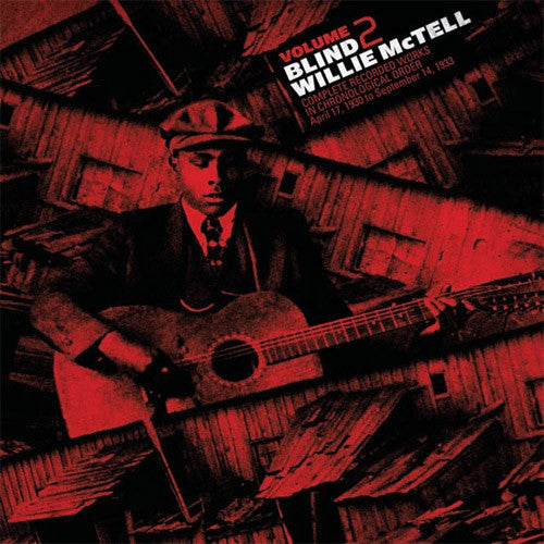 Blind Willie McTell Complete Recorded Works Volume 2 - vinyl LP