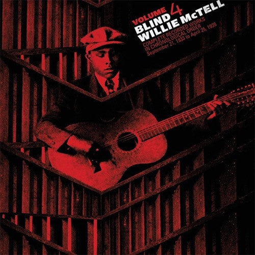 Blind Willie McTell Complete Recorded Works Volume 4 - vinyl LP