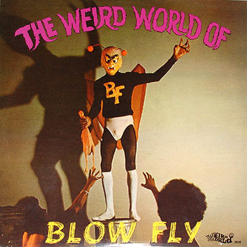 BlowFly The Weird World Of Blowfly - vinyl LP