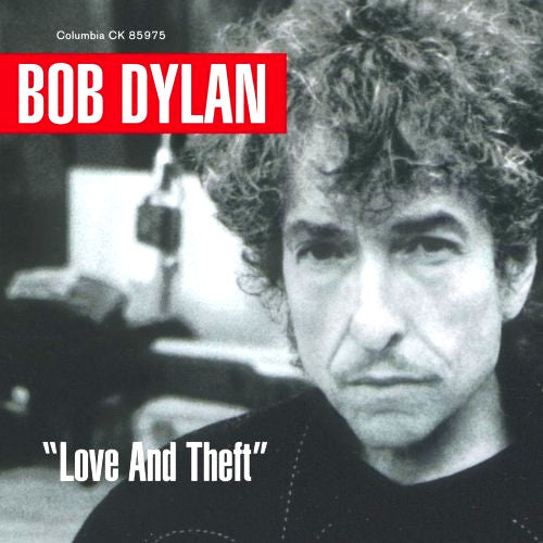 Bob Dylan Love and Theft - compact disc