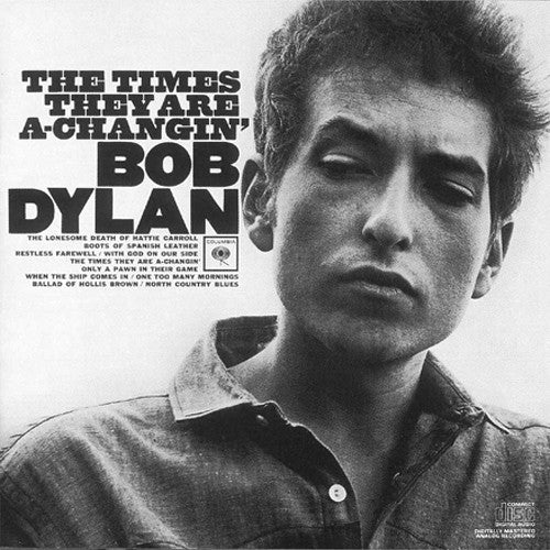 Bob Dylan The Times They Are A-Changin' - compact disc