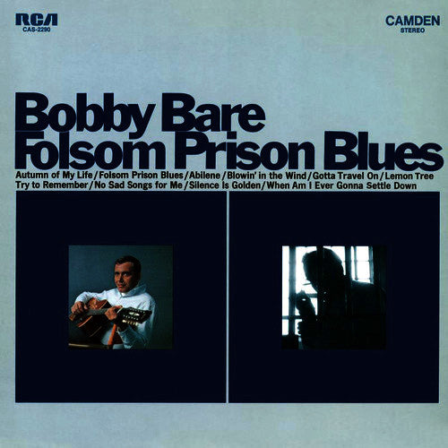 Bobby Bare Folsom Prison Blues - vinyl LP