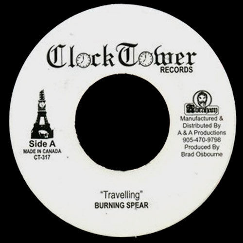 Burning Spear Travelling - 7 inch