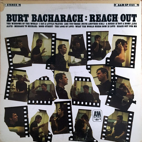 Burt Bacharach Reach Out - vinyl LP