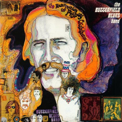 Butterfield Blues Band The Resurrection of Pigboy Crabshaw - compact disc