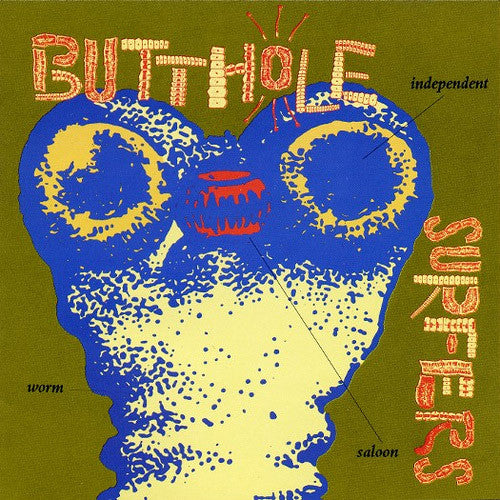 Butthole Surfers Independent Worm Saloon - vinyl LP