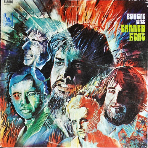 Canned Heat Boogie With Canned Heat - vinyl LP