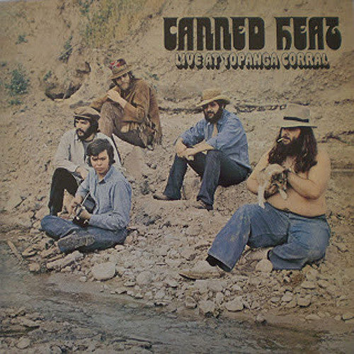 Canned Heat Live At Topanga Corral - vinyl LP