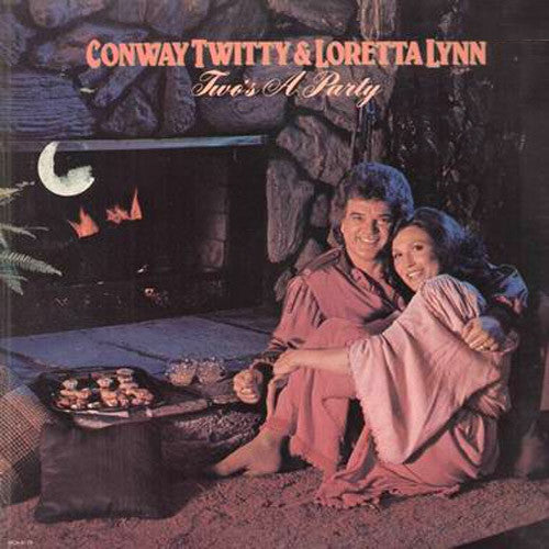 Conway Twitty And Loretta Lynn Two's A Party - vinyl LP