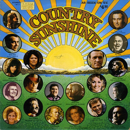 Country Sunshine - vinyl LP