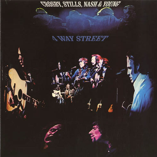 Crosby Stills Nash & Young 4 Way Street - vinyl LP