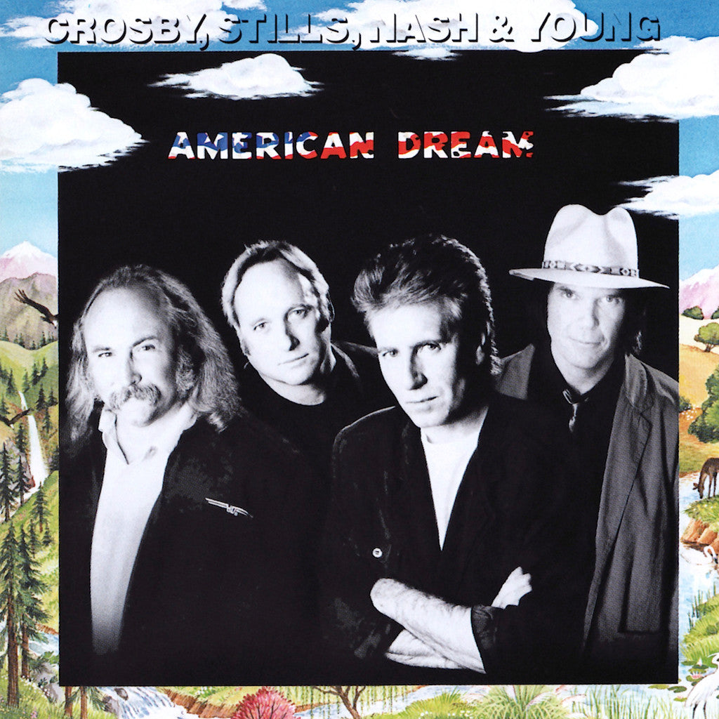 Crosby Stills Nash & Young American Dream - cassette