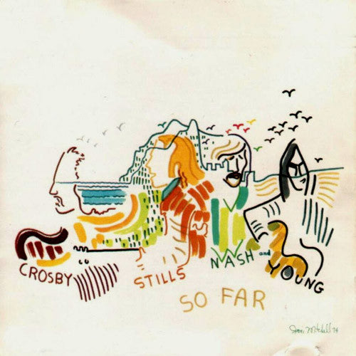 Crosby, Stills, Nash and Young So Far - vinyl LP