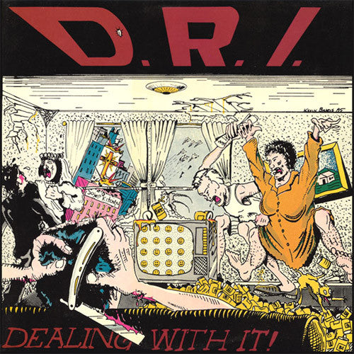 DRI Dealing With It - vinyl LP