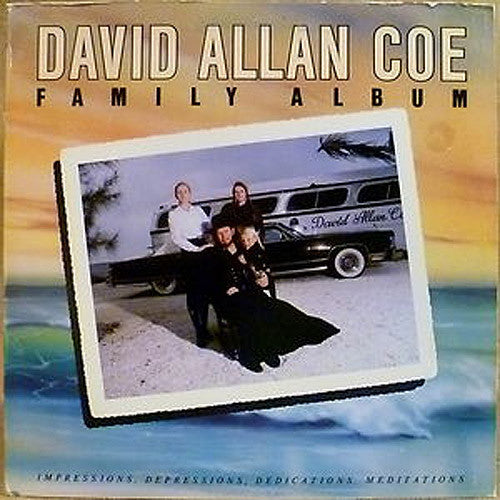 David Allan Coe Family Album - vinyl LP