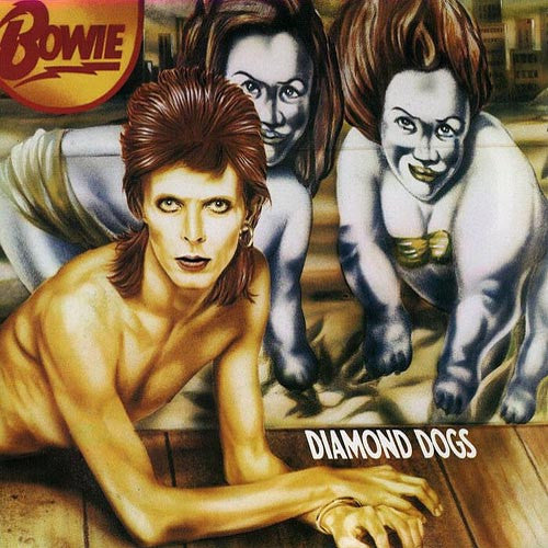 David Bowie Diamond Dogs - vinyl LP