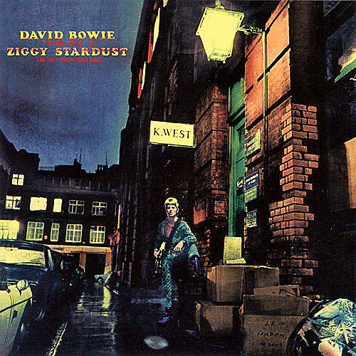 David Bowie The Rise and Fall of Ziggy Stardust and the Spiders From Mars - vinyl LP