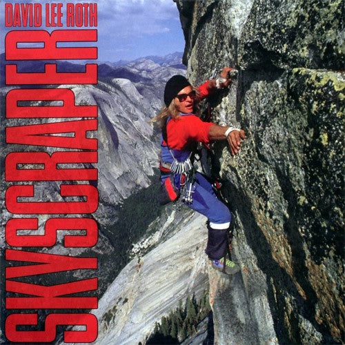 David Lee Roth Skyscraper - vinyl LP