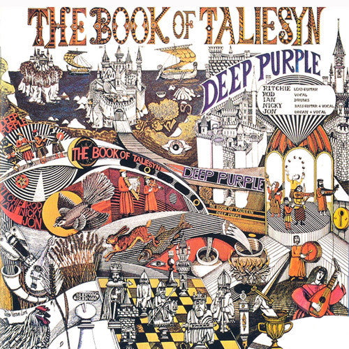 Deep Purple The Book Of Taliesyn - cassette