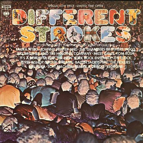 Different Strokes various artists - vinyl LP
