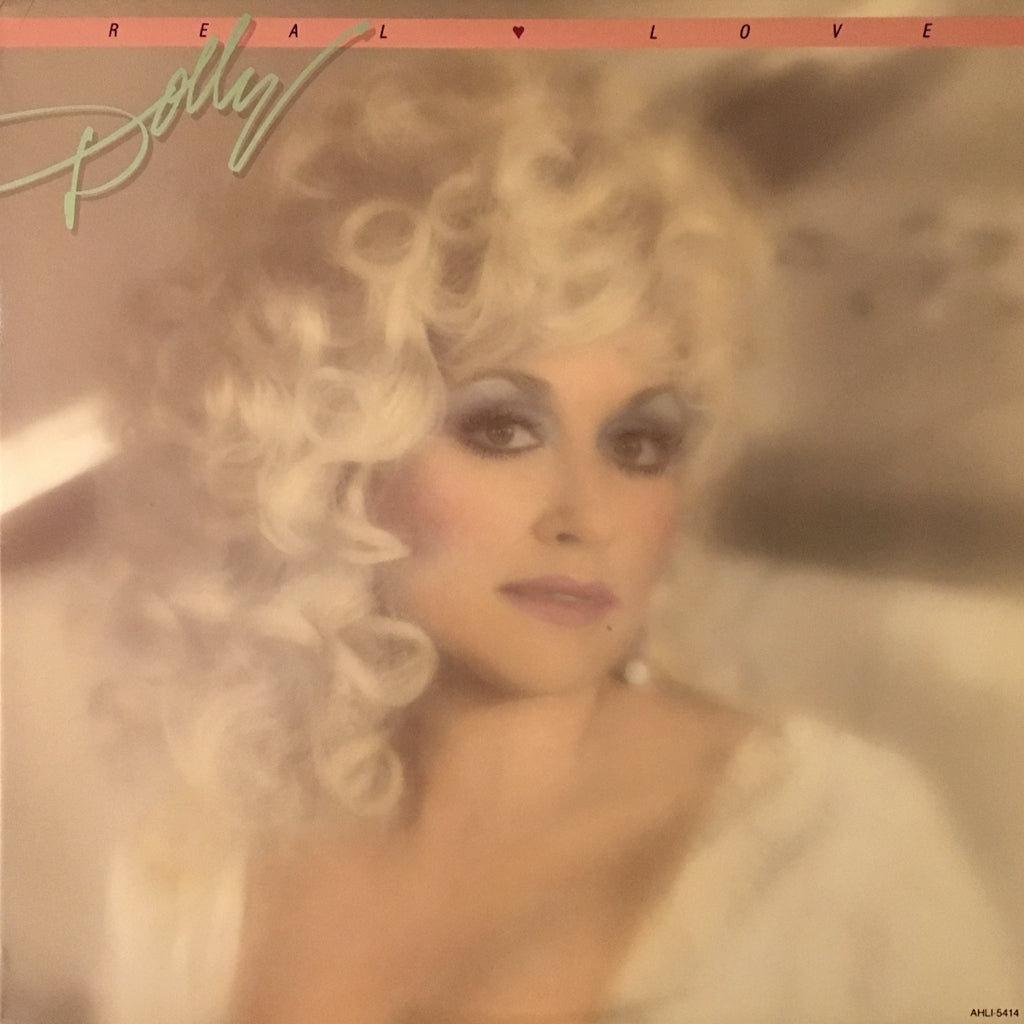 Dolly Parton Real Love - vinyl LP
