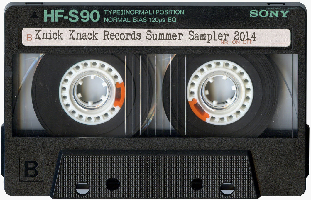 Knick Knack Records Summer 2014 Sampler