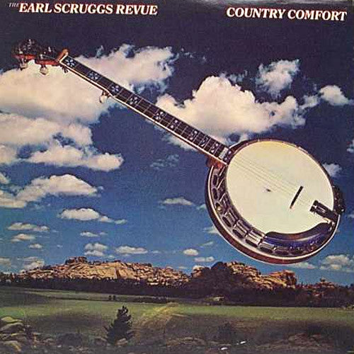 Earle Scruggs Review Country Comfort - vinyl LP