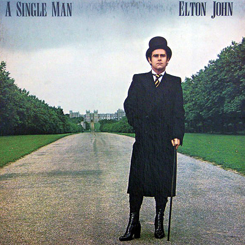 Elton John A Single Man - vinyl LP