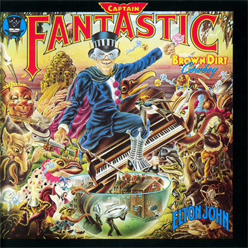 Elton John Captain Fantastic And The Brown Dirt Cowboy - vinyl LP
