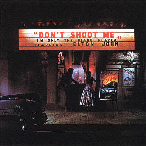 Elton John Don't Shoot Me I'm Only The Piano Player - vinyl LP