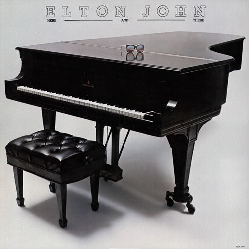 Elton John Here And There - vinyl LP