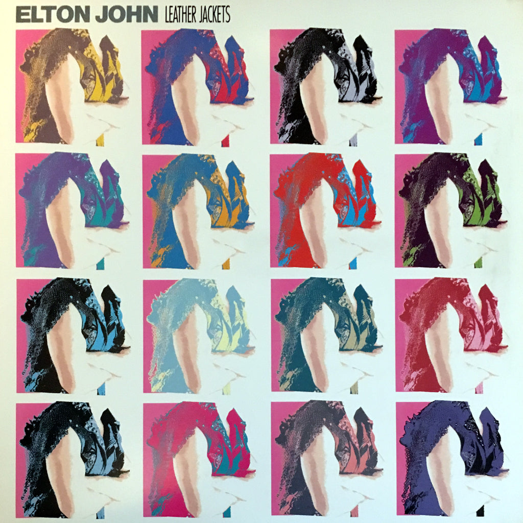 Elton John Leather Jackets - vinyl LP