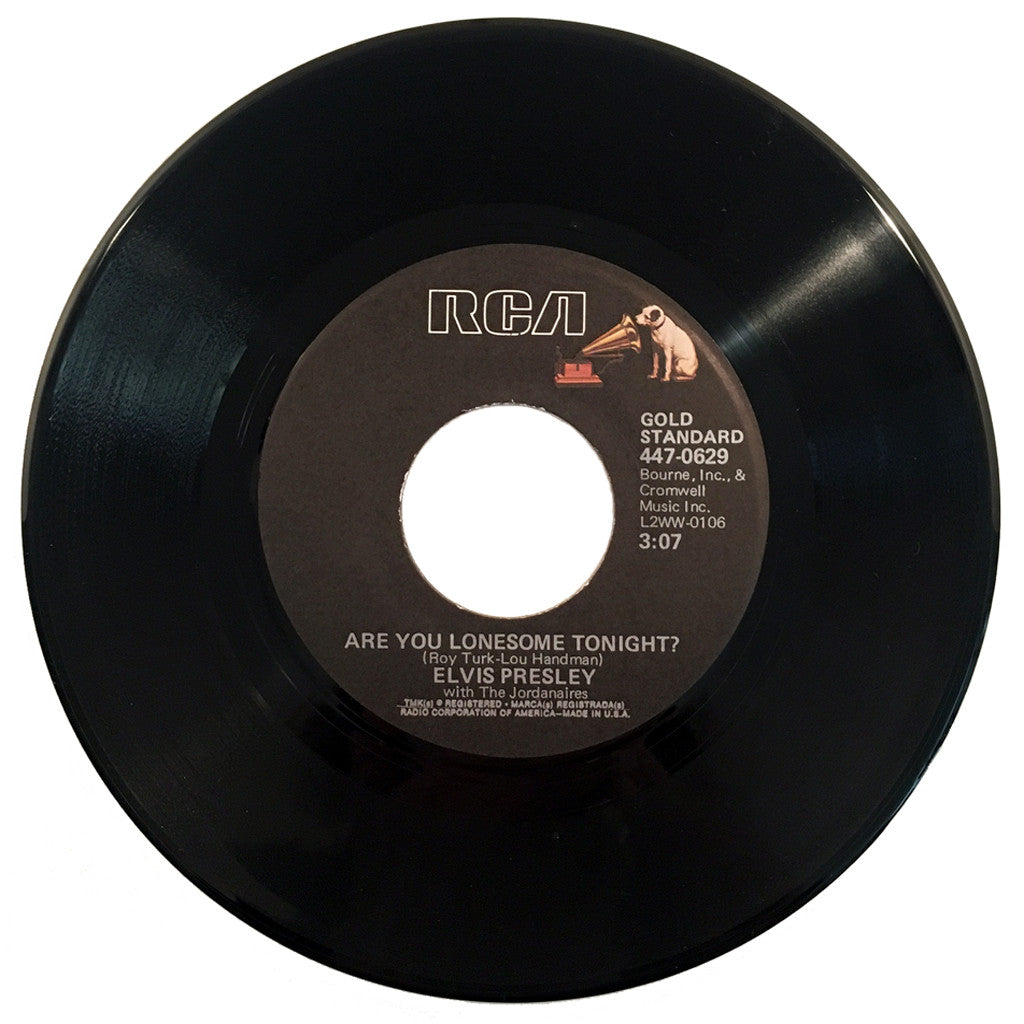 Elvis Presley Are You Lonesome Tonight? / I Gotta Know - 7 inch