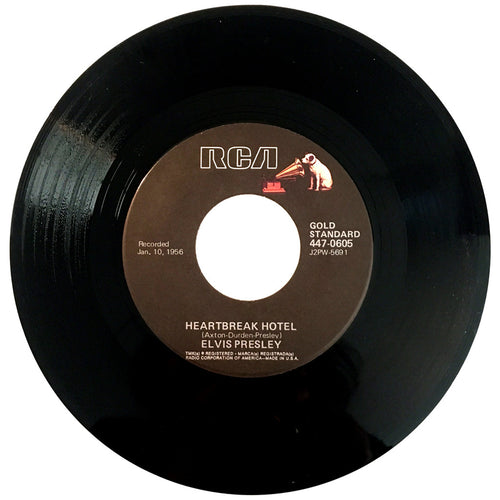 Elvis Presley Heartbreak Hotel / I Was The One - 7 inch