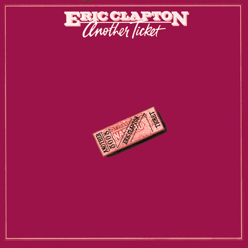 Eric Clapton Another Ticket - vinyl LP